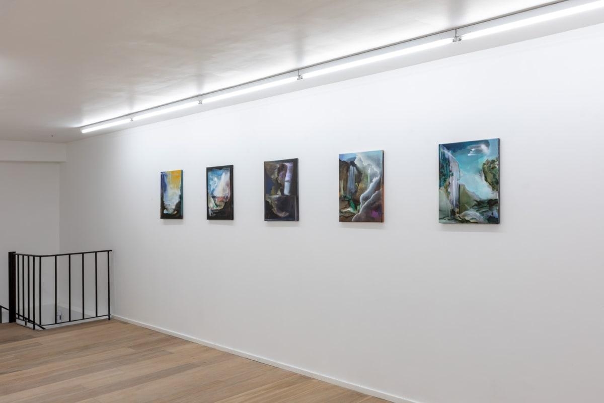 Solo Show Jan Valik, Verge, Installation view