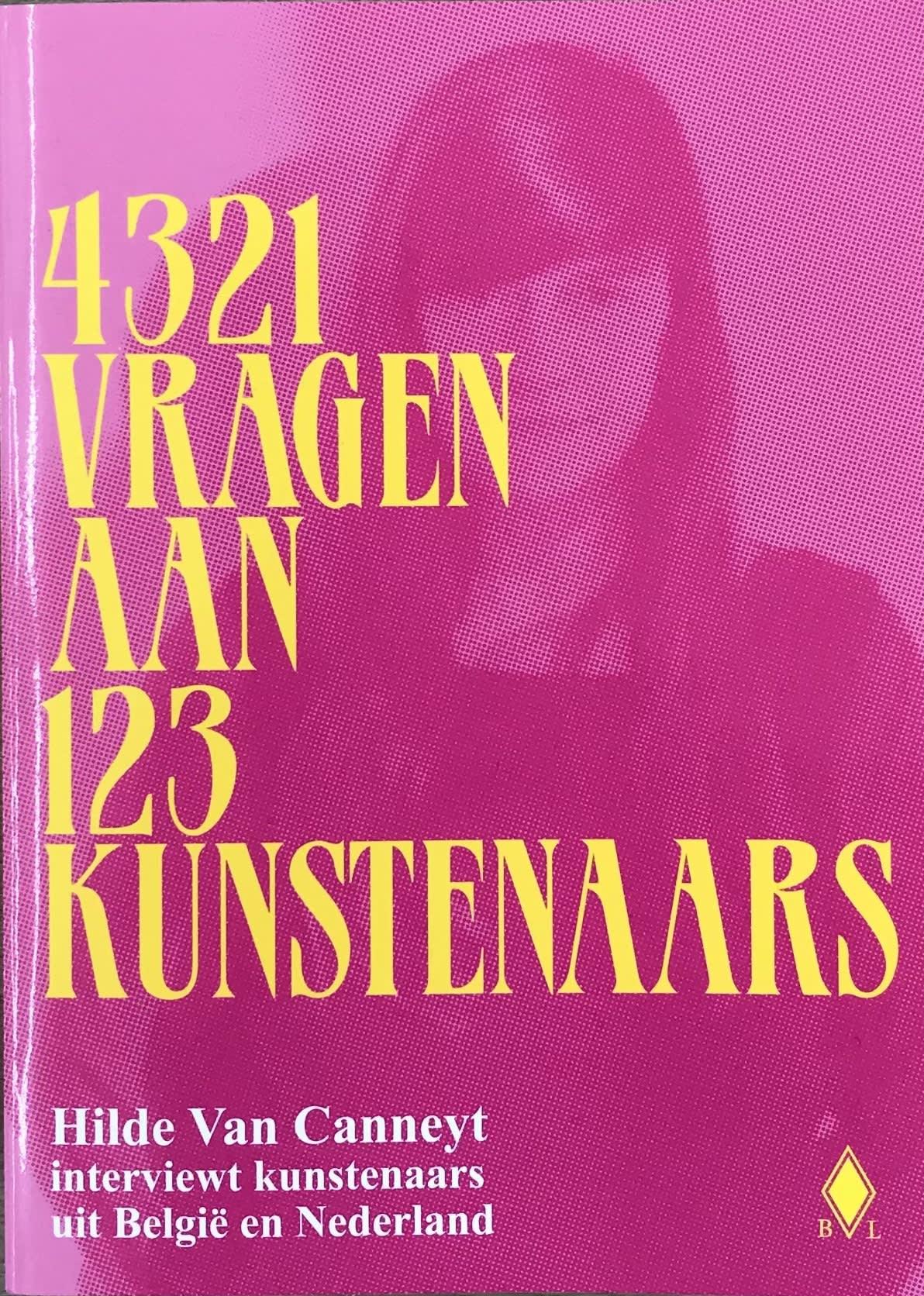 4321 VRAGEN AAN 123 KUNSTENAARS
