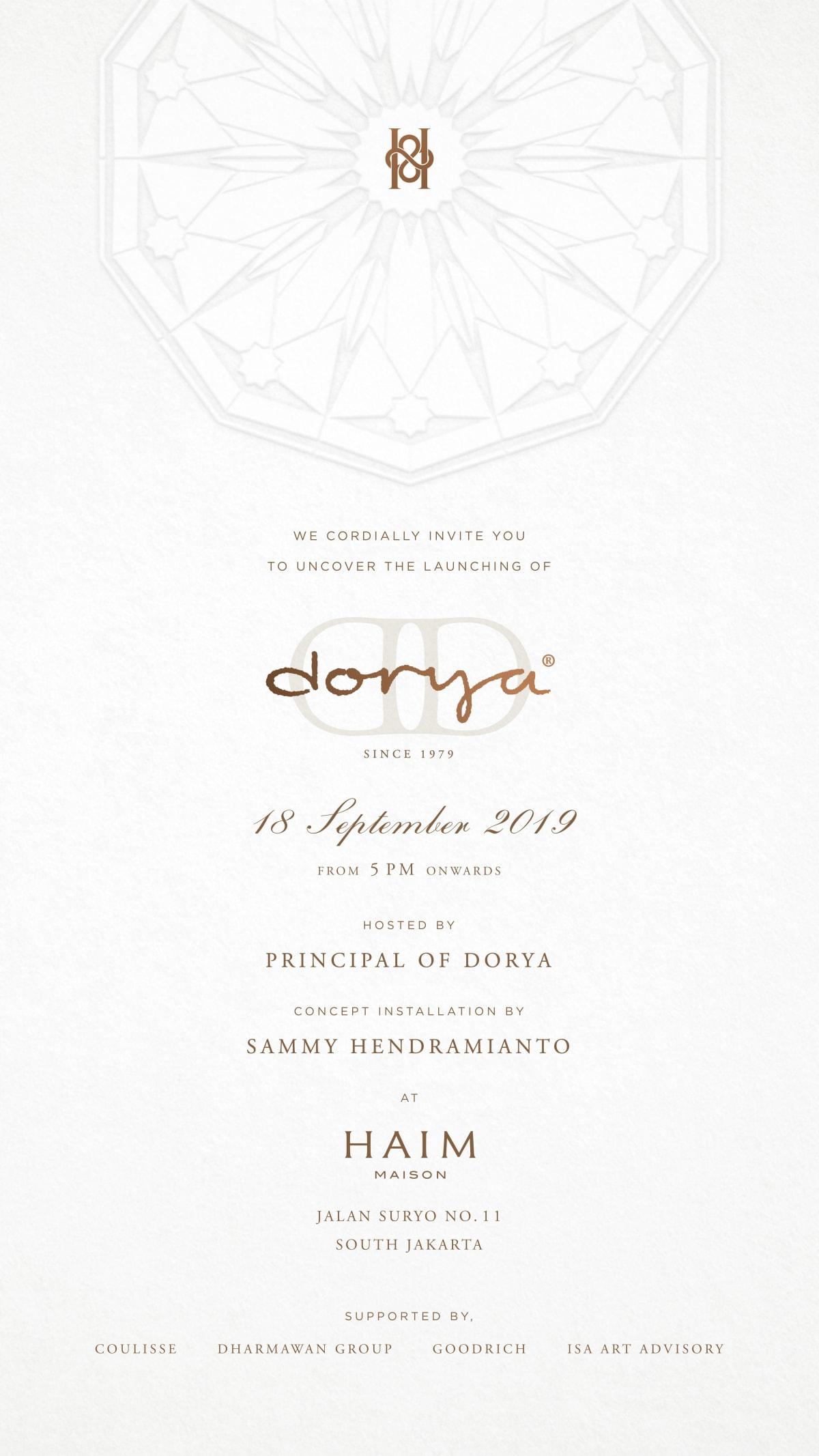The Principal of Dorya