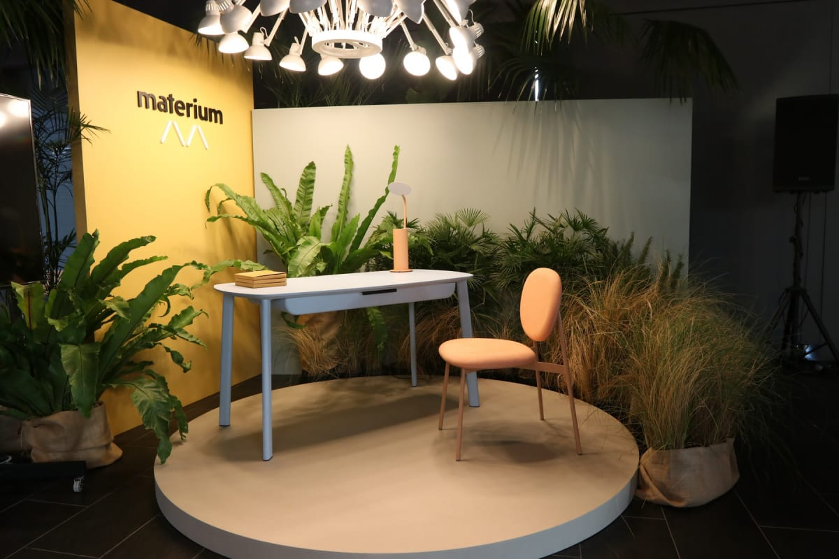 Materium , A project collaboration with the launching of Materium and Malka Metalworks