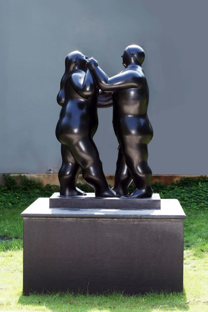 Dancers, Fernando Botero, Private Residence, South Jakarta