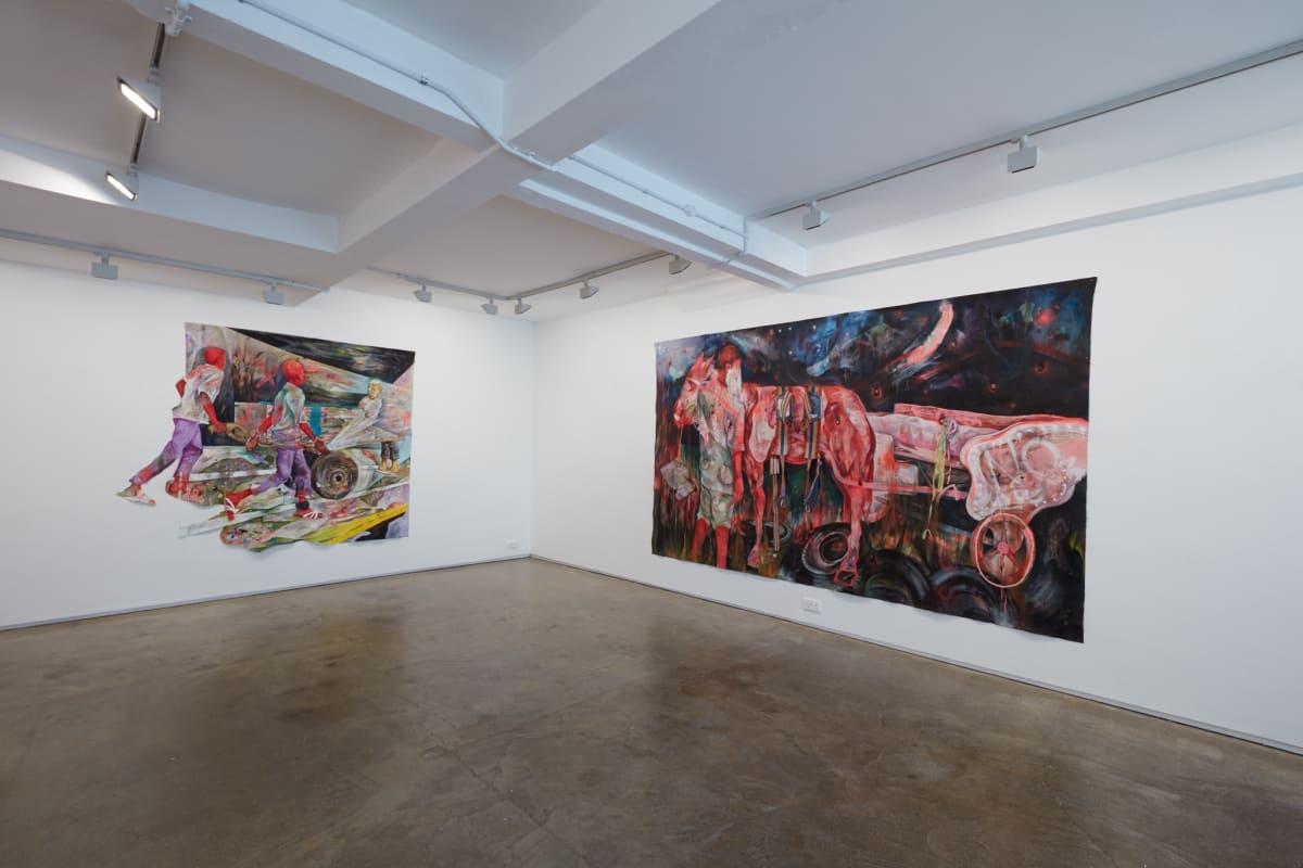Lavar Munroe Strangers In The Night 2019 Installation Image Jack Bell Gallery London
