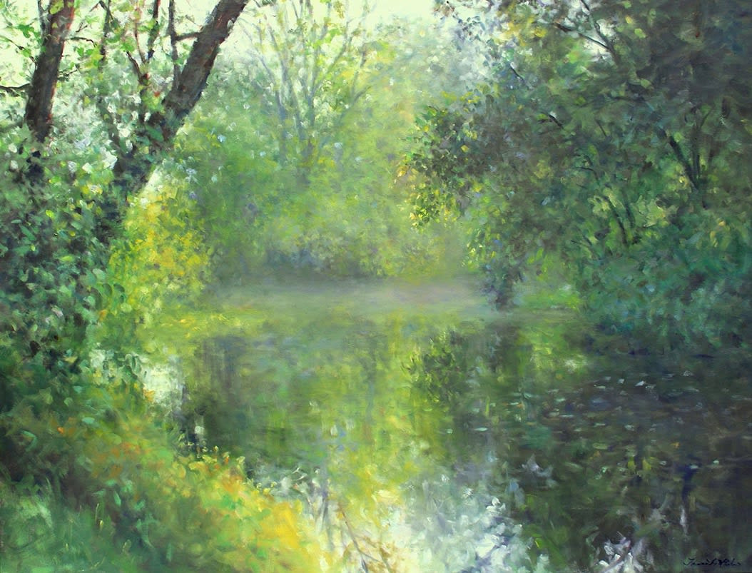 "Enjoy This Beautiful Visual Escape to ""The Pond"" with the Latest Jerald Melberg Gallery Exhibit"