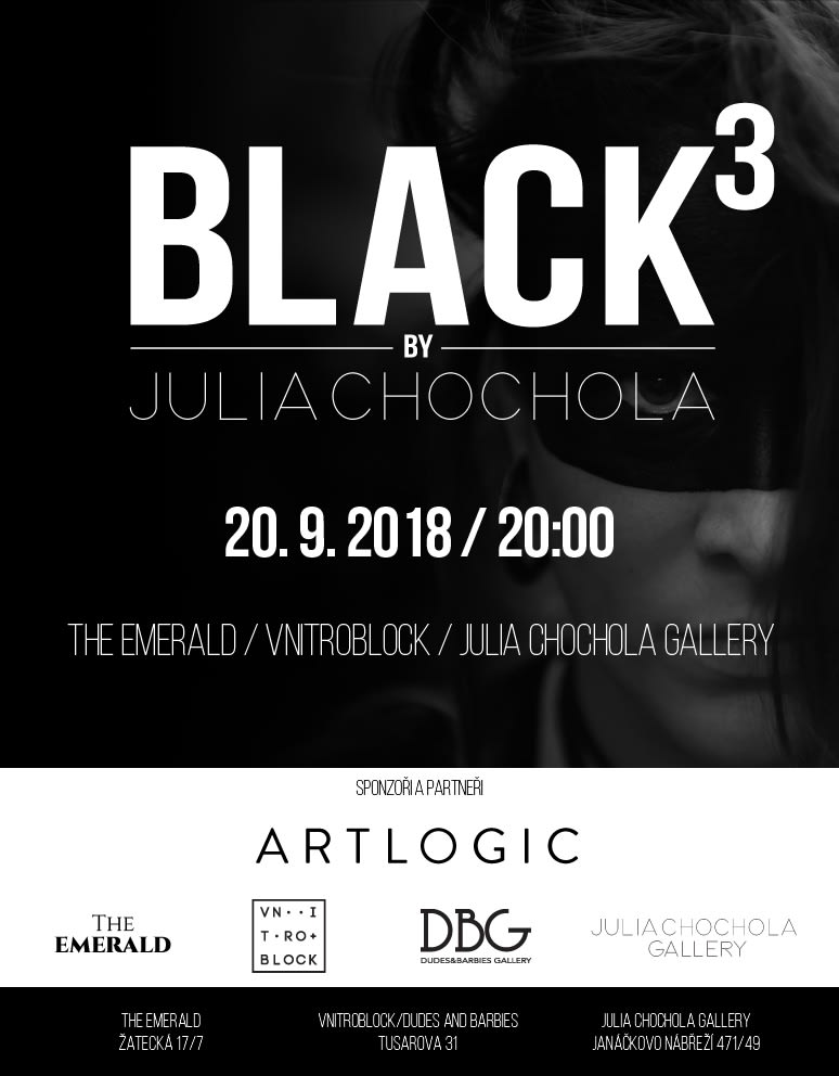 Black Mail Web Invitation