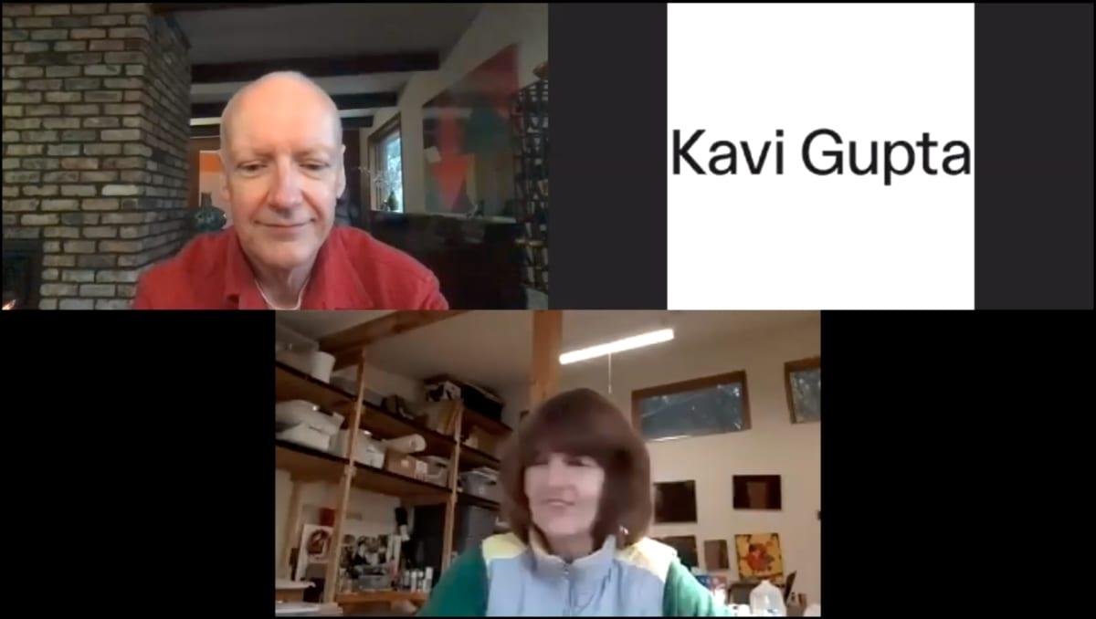Tony Tasset / Michelle Grabner : Artist Talk for The Weight at Kavi Gupta