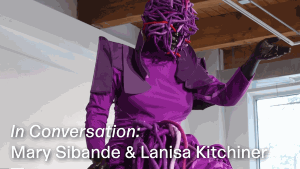 In Conversation: Mary Sibande and Lanisa Kitchiner
