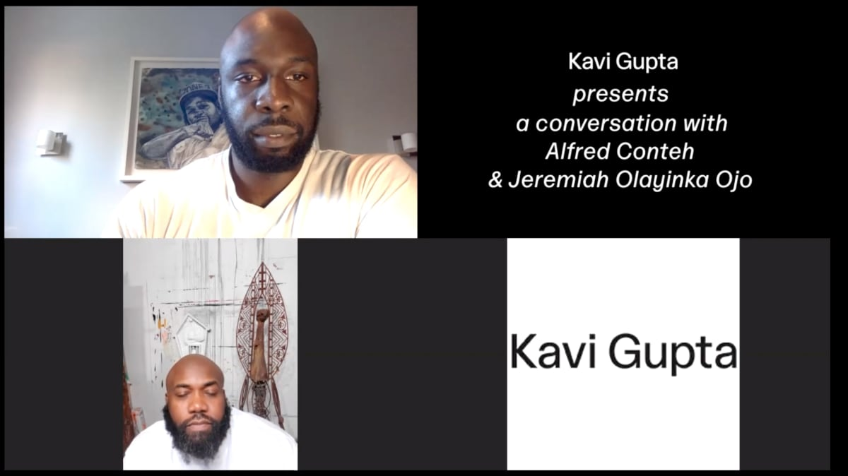 Alfred Conteh, Our Reality Artist Talk