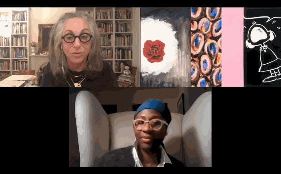 Deborah Kass & Naomi Beckwith in Conversation at Kavi Gupta