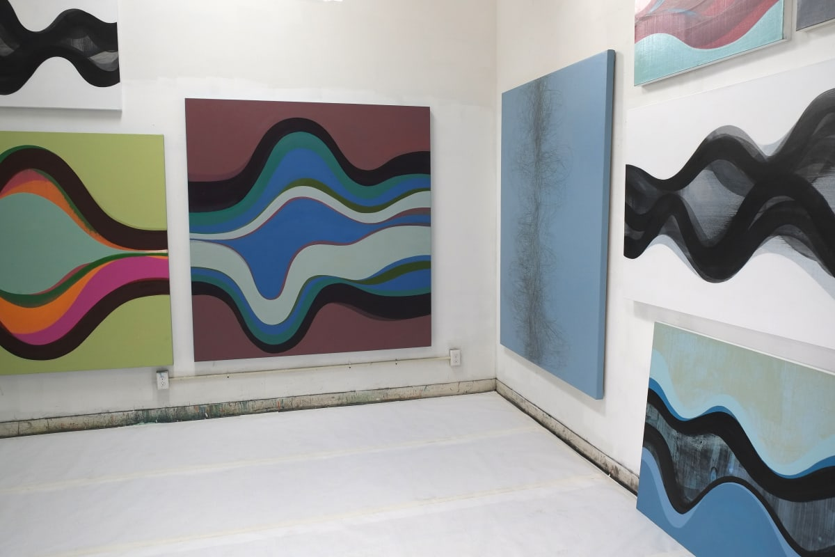 Margaret Neill's studio