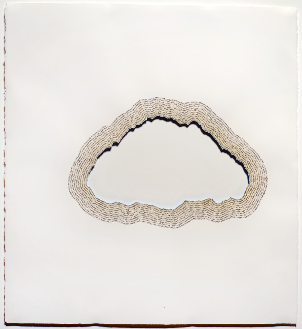 Meg Hitchcock The Cloud of Unknowing, 2015