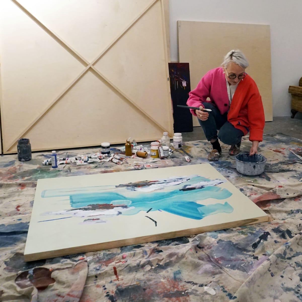Janna Watson in her studio.
