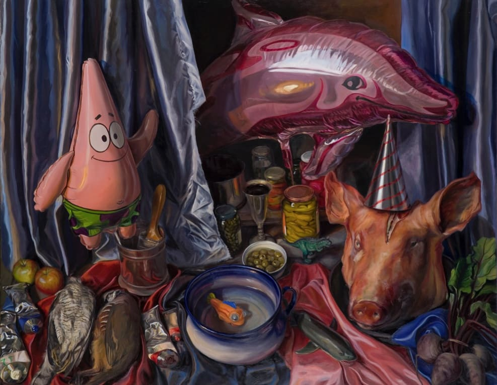 Geraldine O' Neill | Many Worlds | Portrait and Still Life Painting