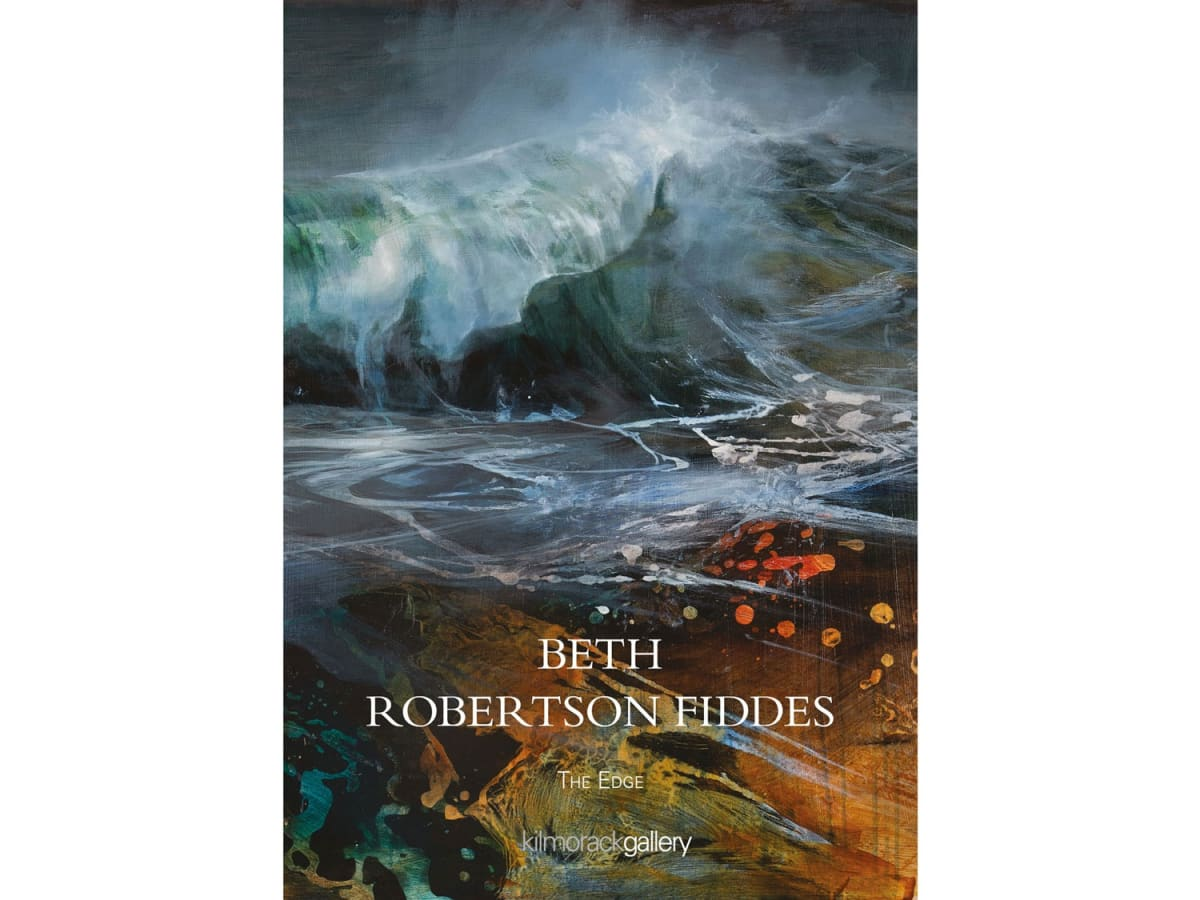 Catalogue cover for Beth Robertson FIddes exhibiiton Kilmorack Gallery 2020