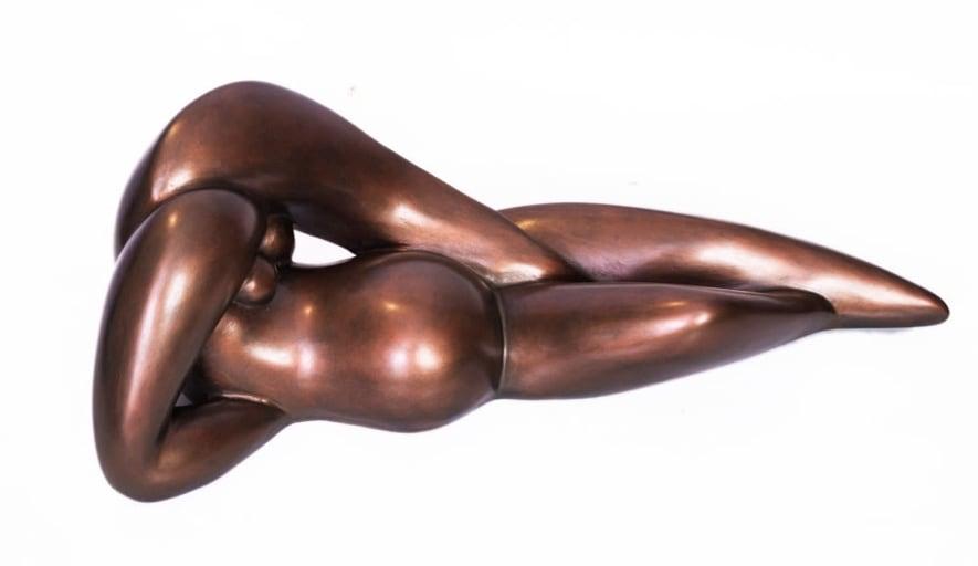 Arinze Ato, Reclining Pregnant Form