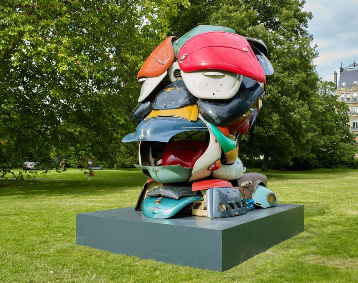 Zak Ové - Autonomous Morris Frieze Sculpture