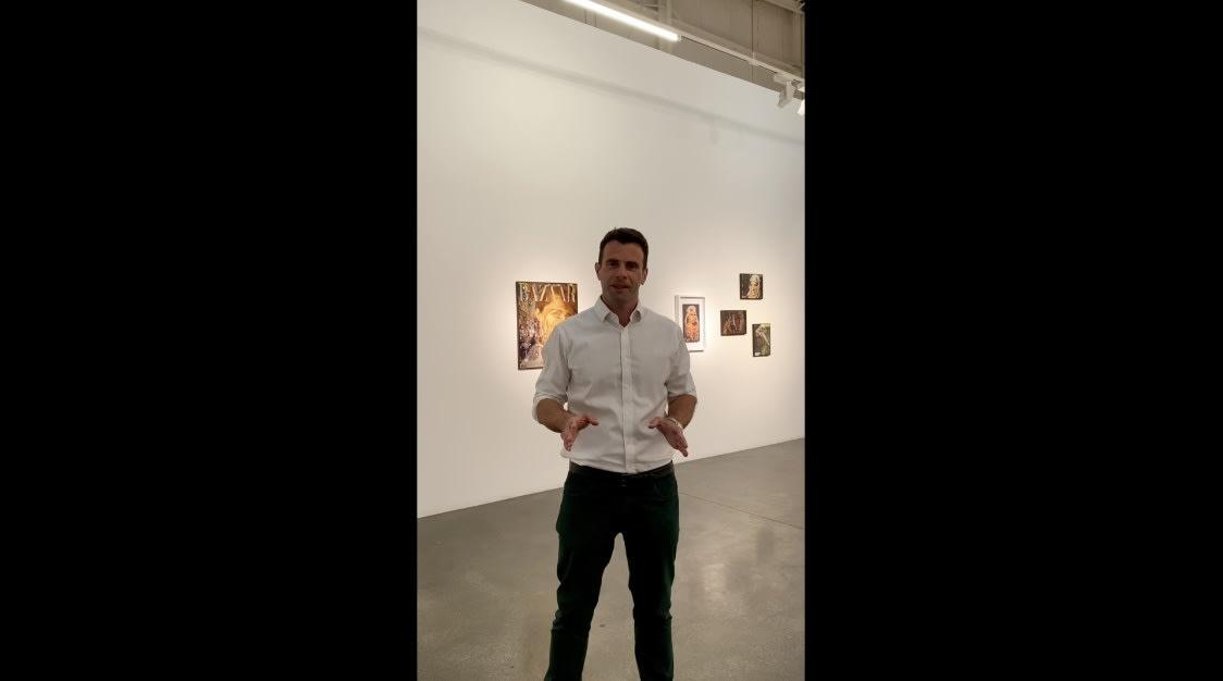 Farhad Ahrarnia - The Lacemaker Exhibition Tour