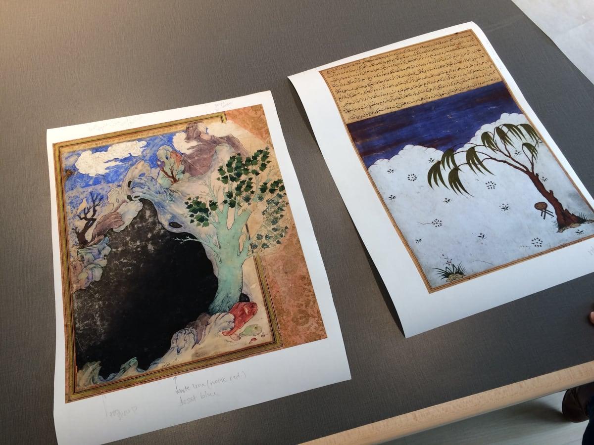 Shahpour Pouyan on his Miniatures Series