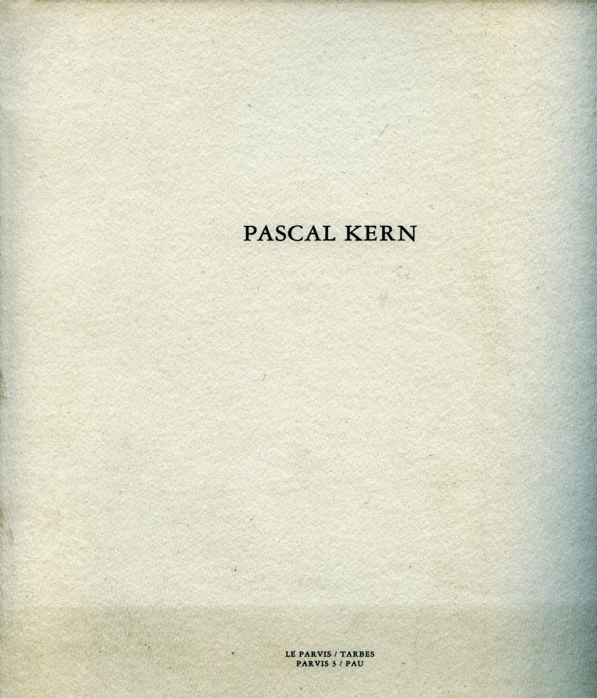Pascal Kern : Sculpture, Culture, Nature