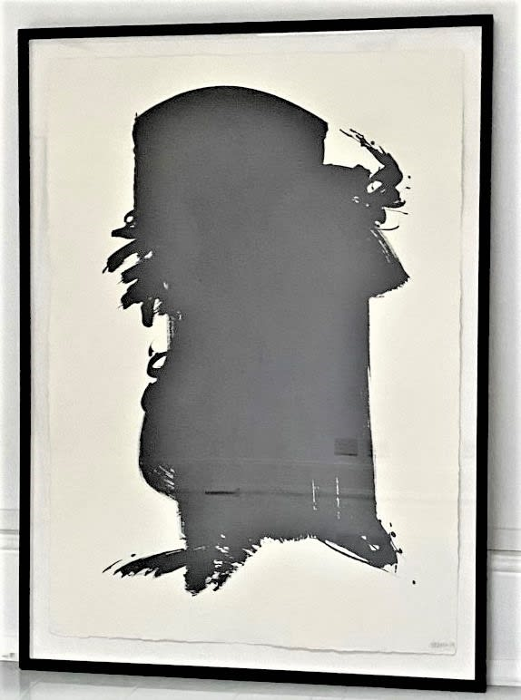 Terence Donovan Picture 40 acrylic on paper 86 x117cm signed