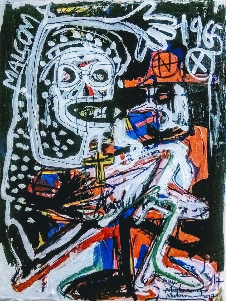 Mubiru Denis Can T You See What You Doing To Me Ii 2017 Acrylic On Canvas 78 Cm X 59 Cm