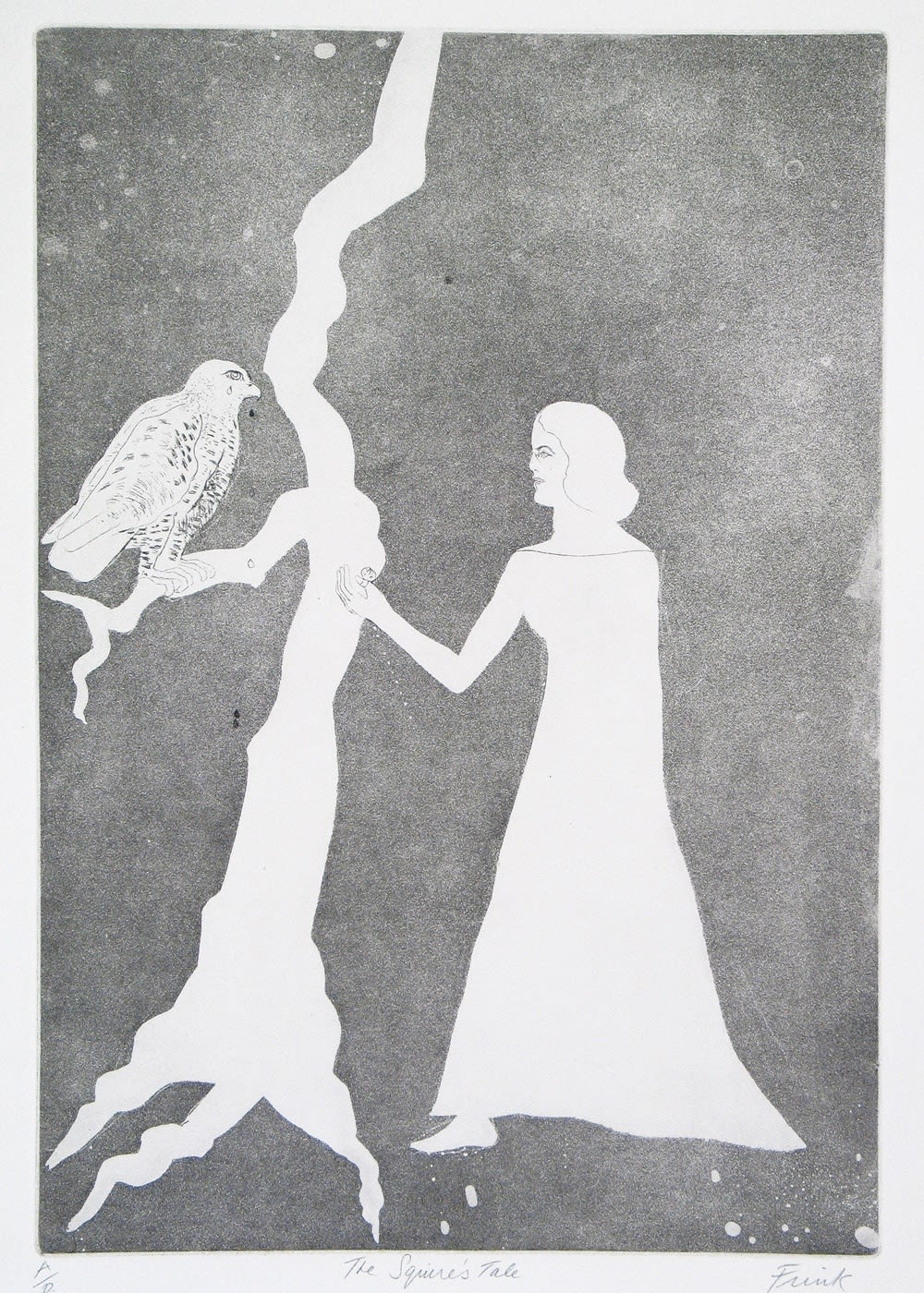 Elizabeth Frink, The Squire's Tale, 1972 Aquatint with Etching