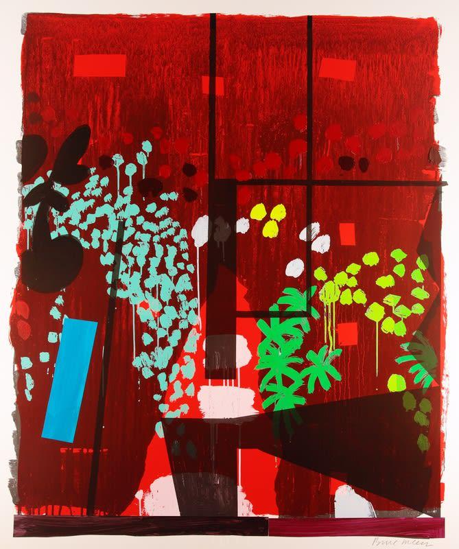 Bruce McLean, Monotype 15, 2014 Monotype