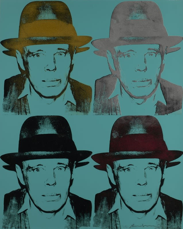 Andy Warhol, Joseph Beuys (1980-1983) Screenprint