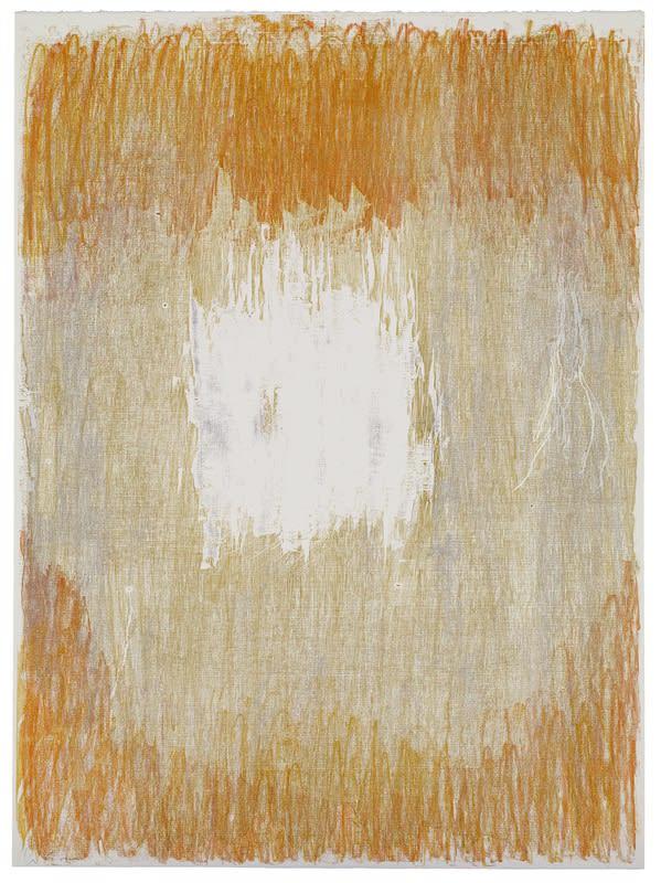 Christopher le Brun PRA, Seria Ludo 2, 2015 Woodcut