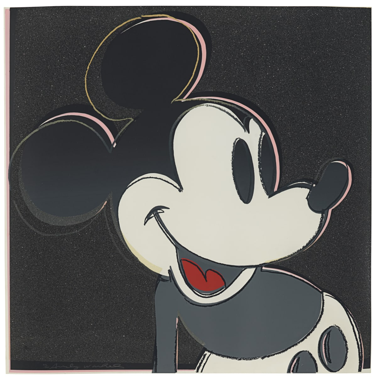 Andy Warhol, Mickey Mouse, 1981 Screenprints on Lenox Museum Board 38 x 38 inches each Edition of 200