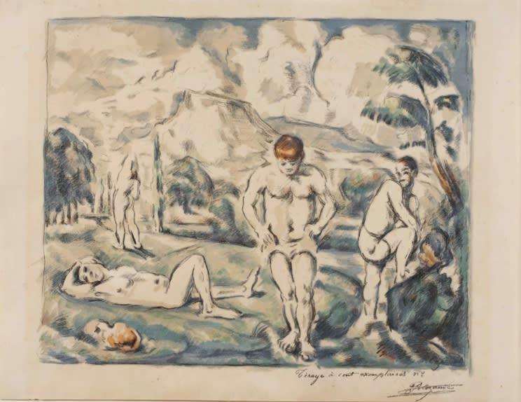 Cézanne at the Whitworth, Karsten Schubert Gallery, London