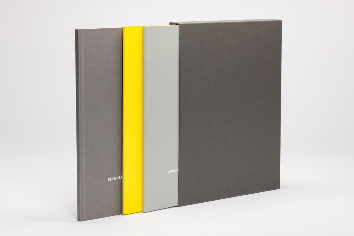 Peter Saville and Anna Blessmann- Limited edition book and print launch, Paul Stolper Gallery, London