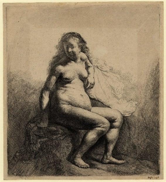 Rembrandt and the Nude, Fitzwilliam Museum, Cambridge