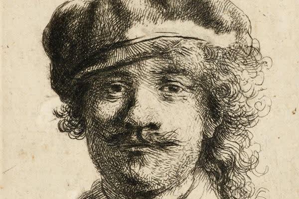 Young Rembrandt, Ashmolean Museum, Oxford