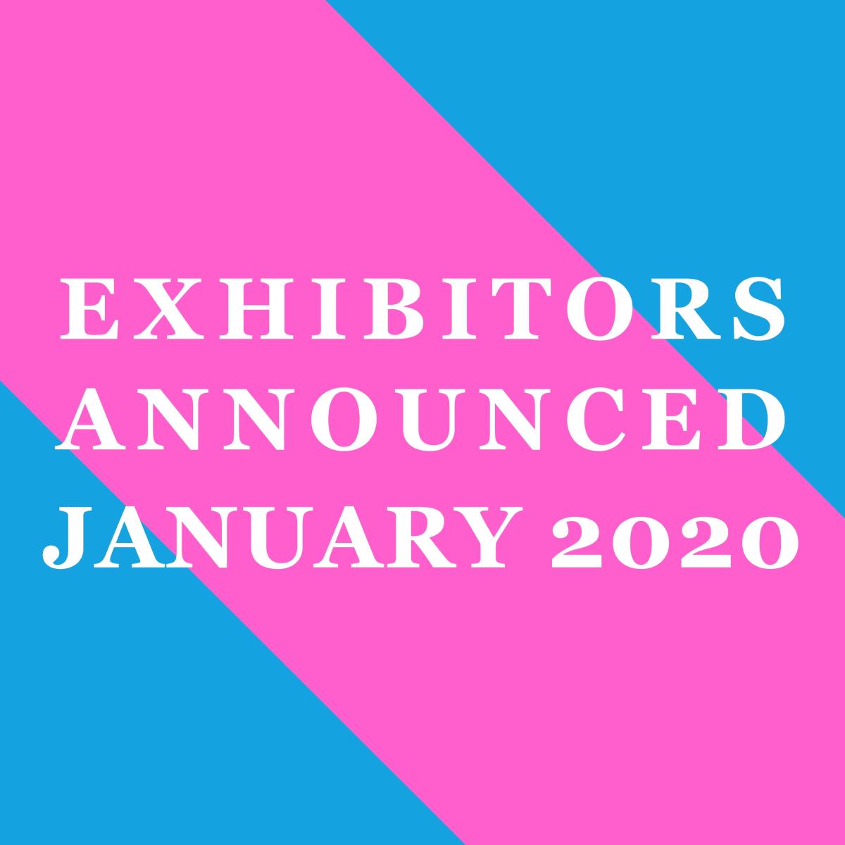 LOPF 2020 Exhibitors, Announced January 2020