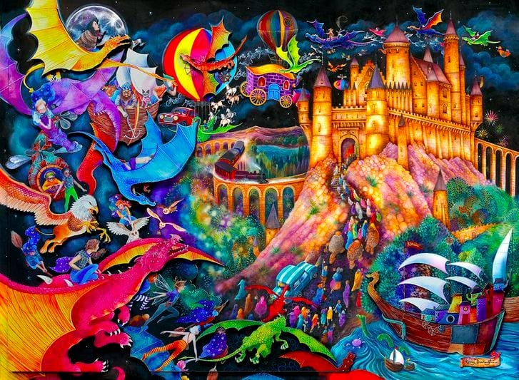 Fairy Tales and Imagination , New Works by Kerry Darlington