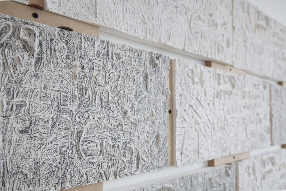 Adrian Abela, From the Original wall, 2018 (detail)