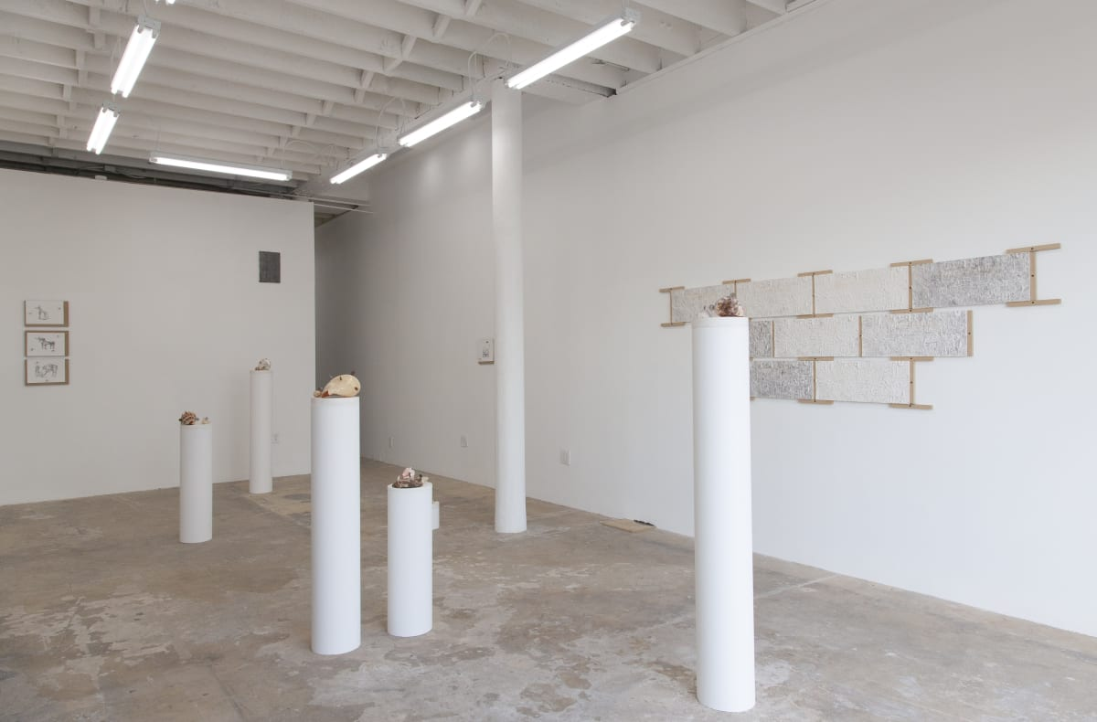 Installation view, FOREWOR(L)D