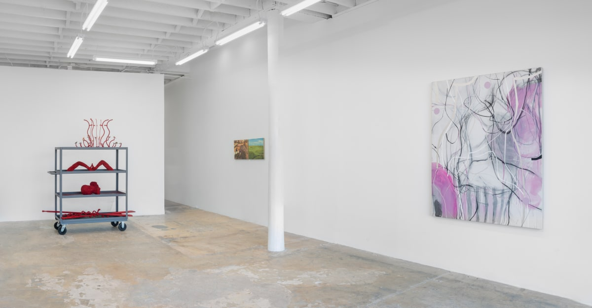 Installation view, They Rise When Vernal Breezes Blow. Photo: Yubo Dong