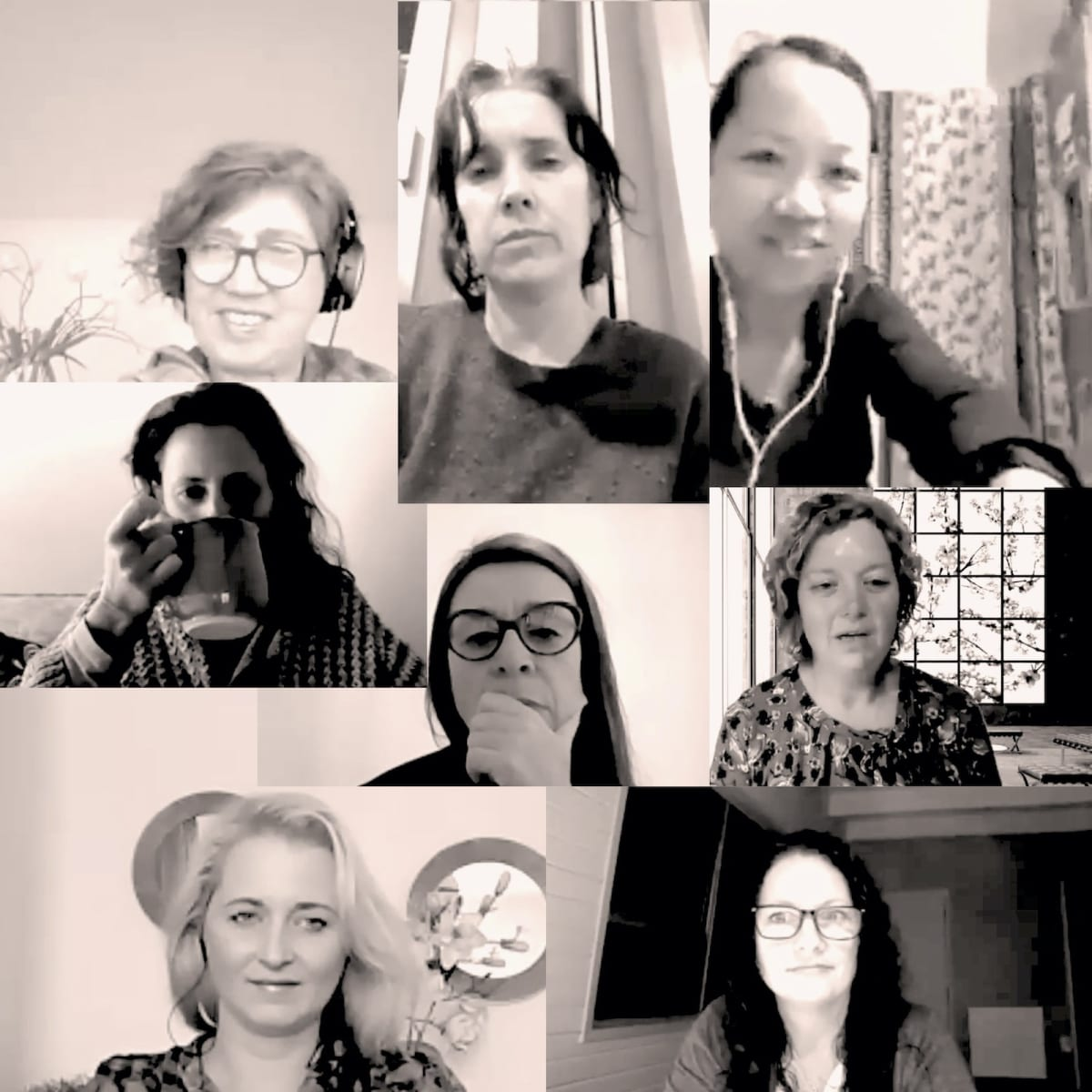 (from top left): Antonella Scarabelli (Lead), Aimee Magne, Jenefer Espero, Ana Sevilla Perez, Geneviève Flaven, Marrije Wesseling (Studio Manager), Rita Herban and Lise Baker