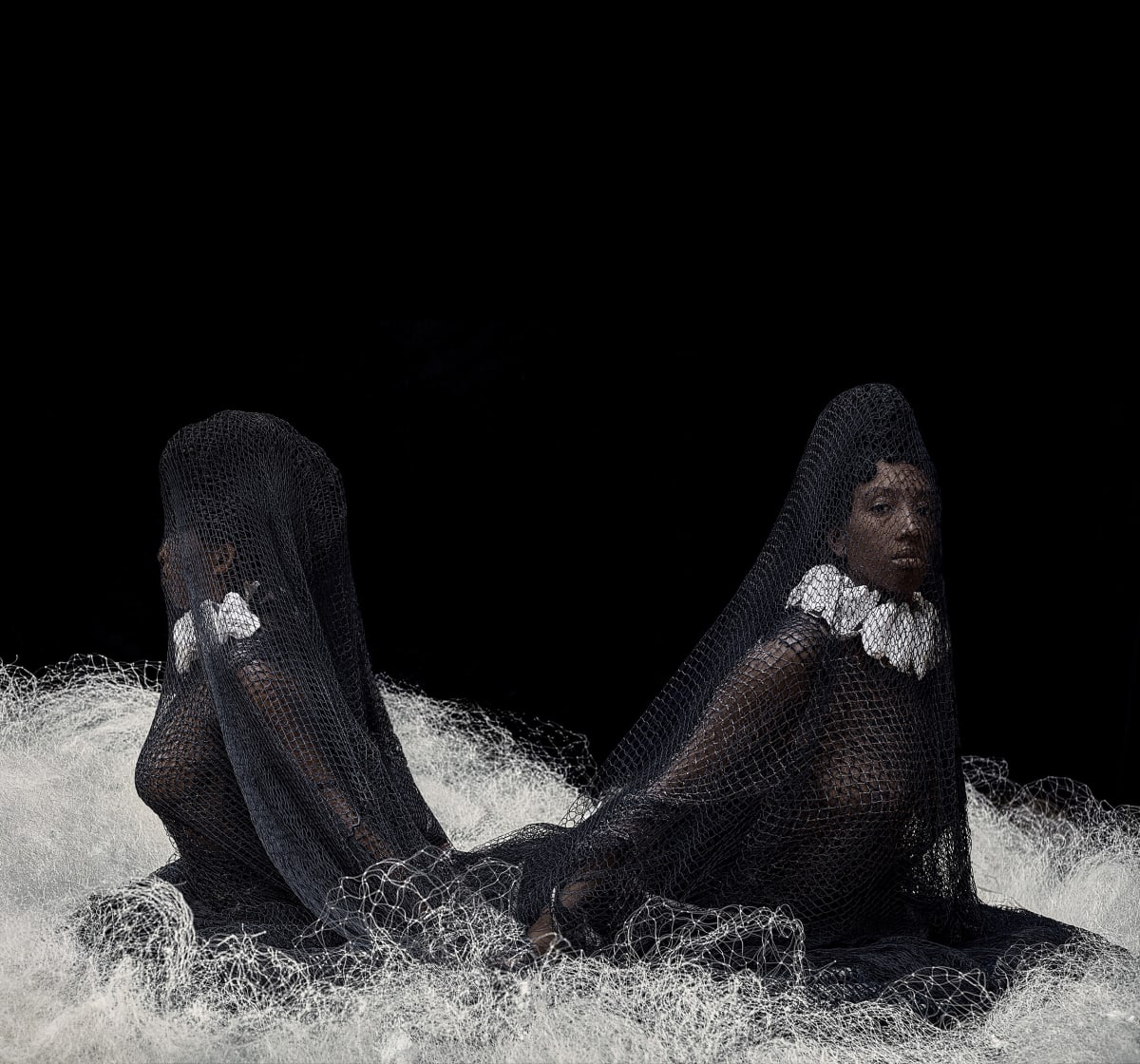 Ayana V. Jackson, Double Goddess...A Sighting in the Abyss, 2019. Courtesy of the Artist and Mariane Ibrahim Gallery