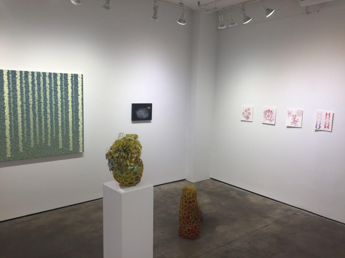 installation photo of Indra'sNet exhibition