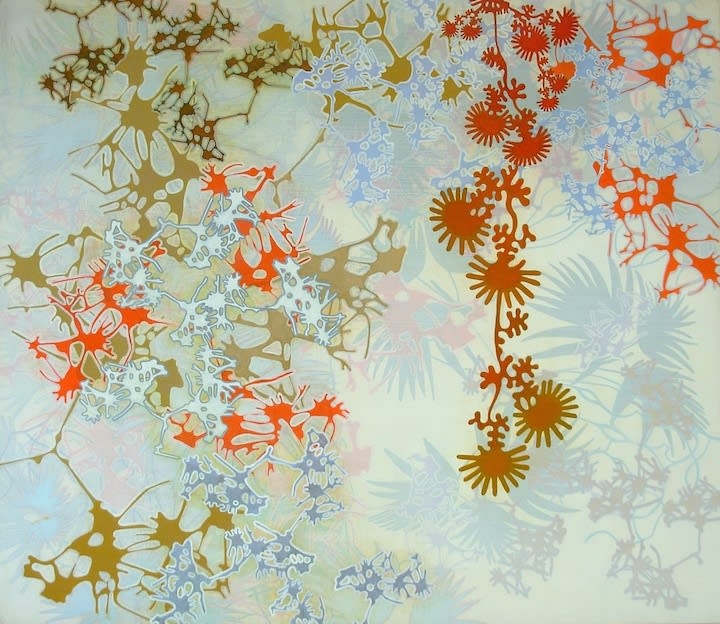 floral pattern painting