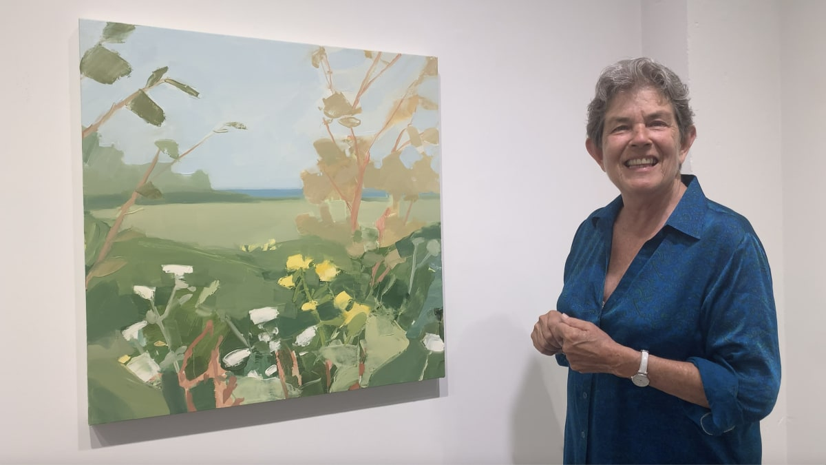 Art Up Close: Landscape Painting by Sara MacCulloch