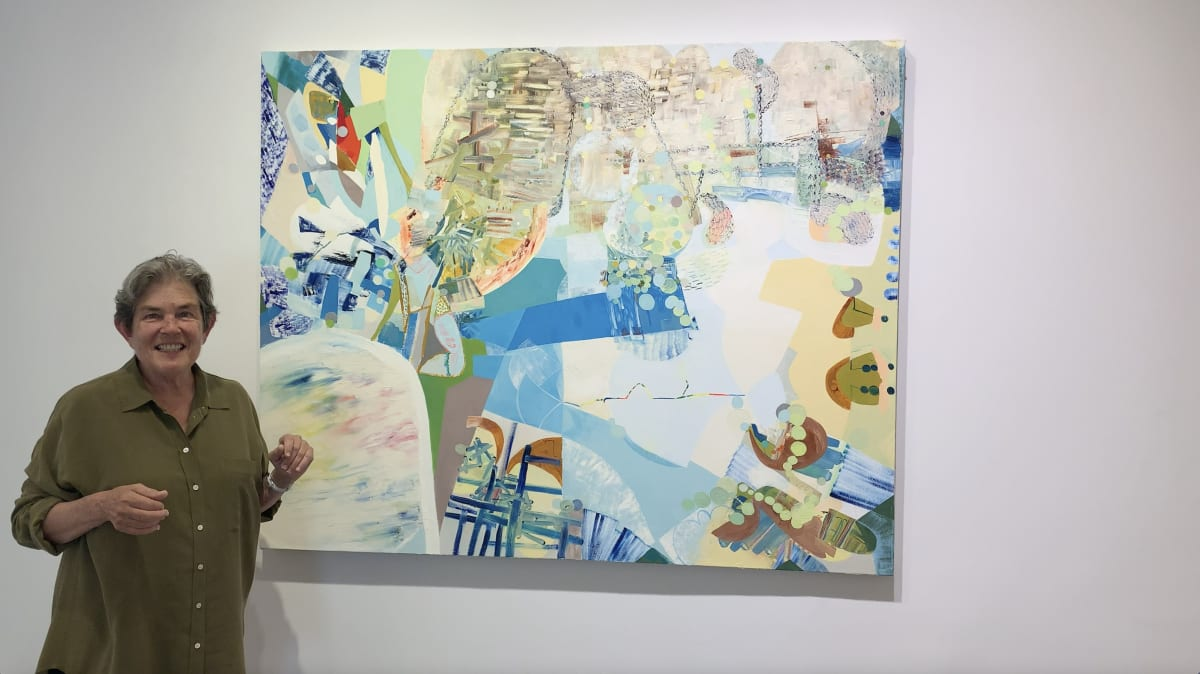 Art Up Close: Abstract Painting by Josette Urso