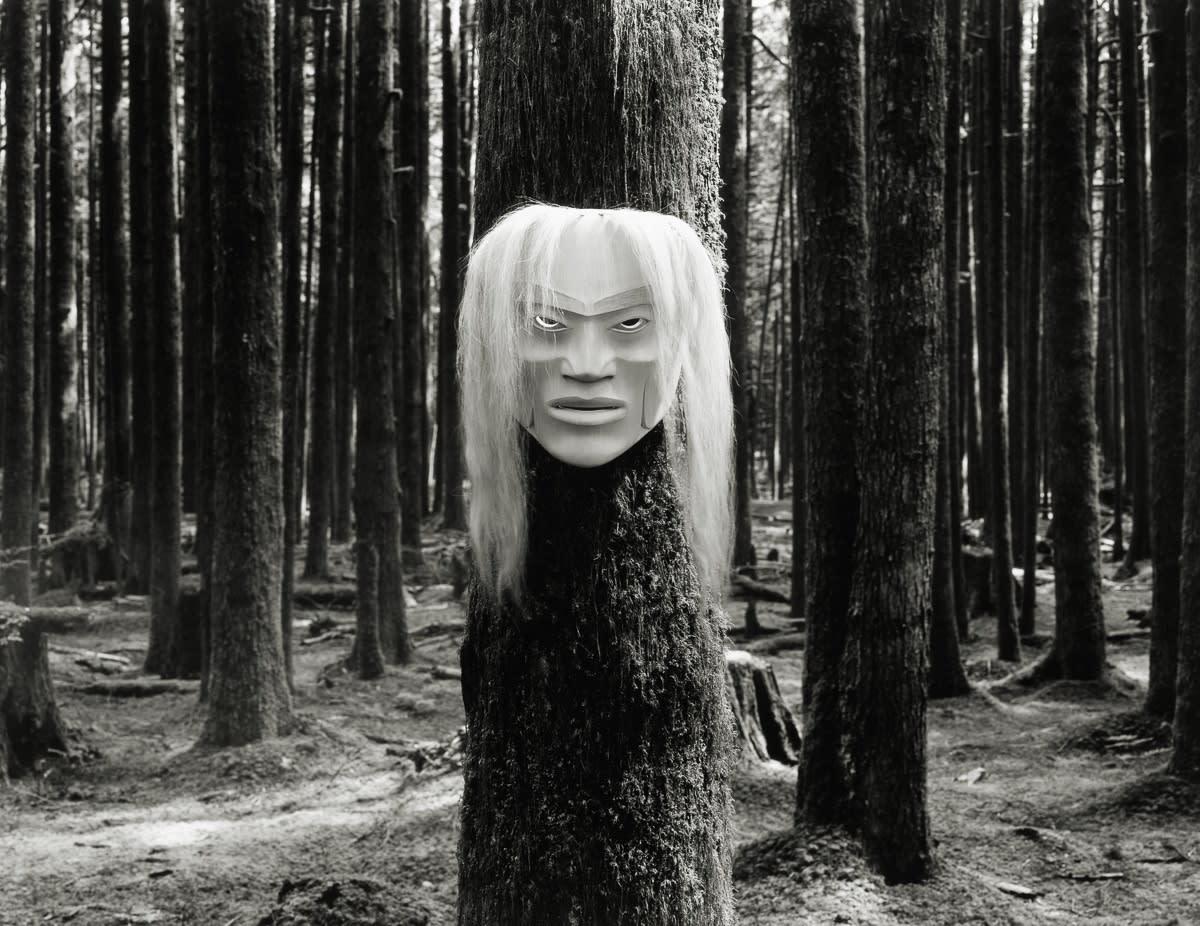 Jakob De Boer, Ghost Mask, Mask By Klatle Bhi, 2016