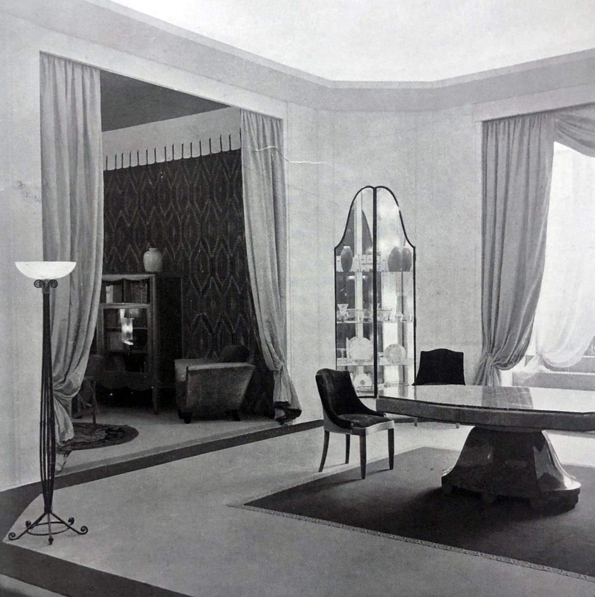 Art Deco Dining room Paris, 1933