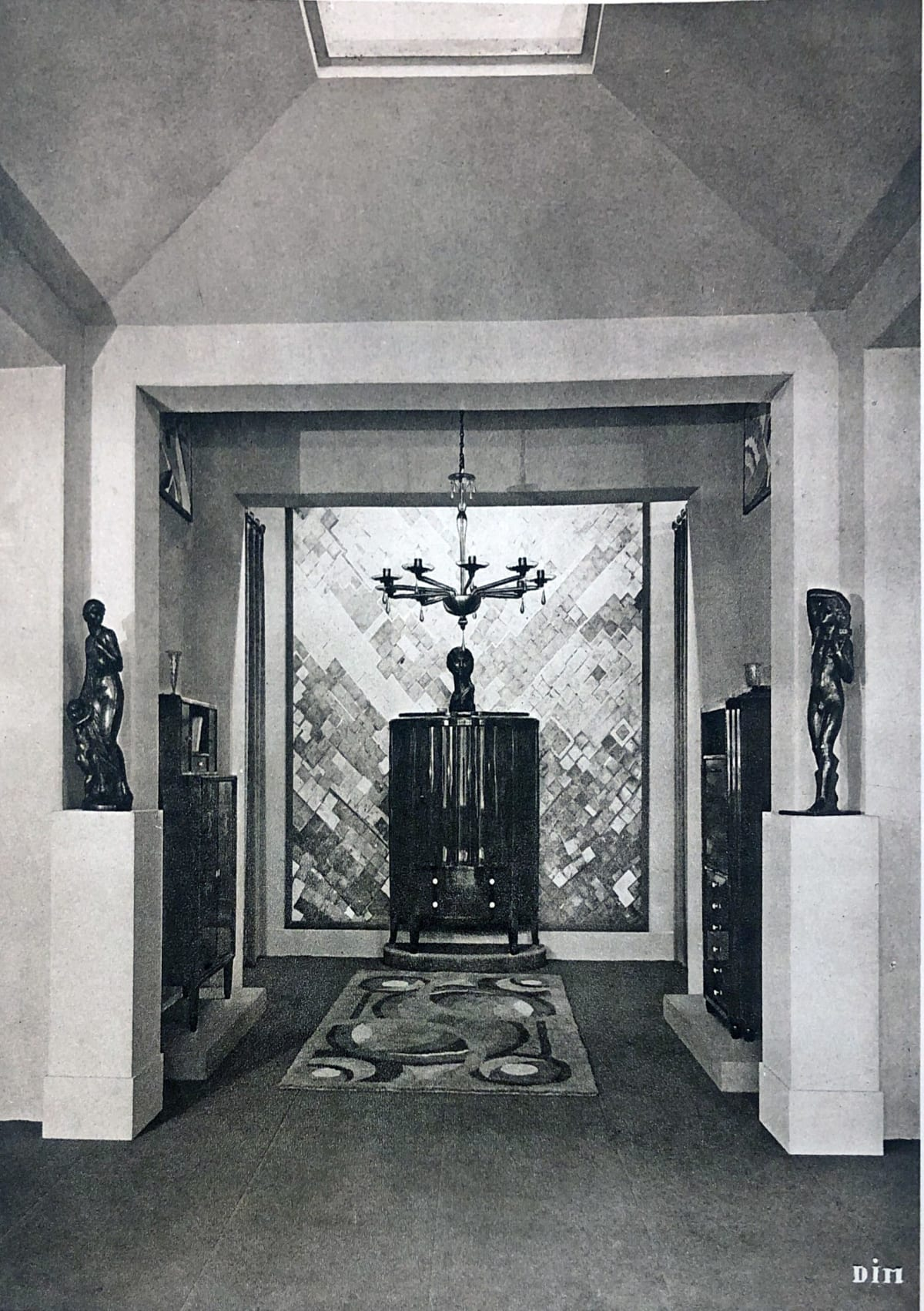 Interior by DIM (Decoration Interieure Moderne) Paris, 1925