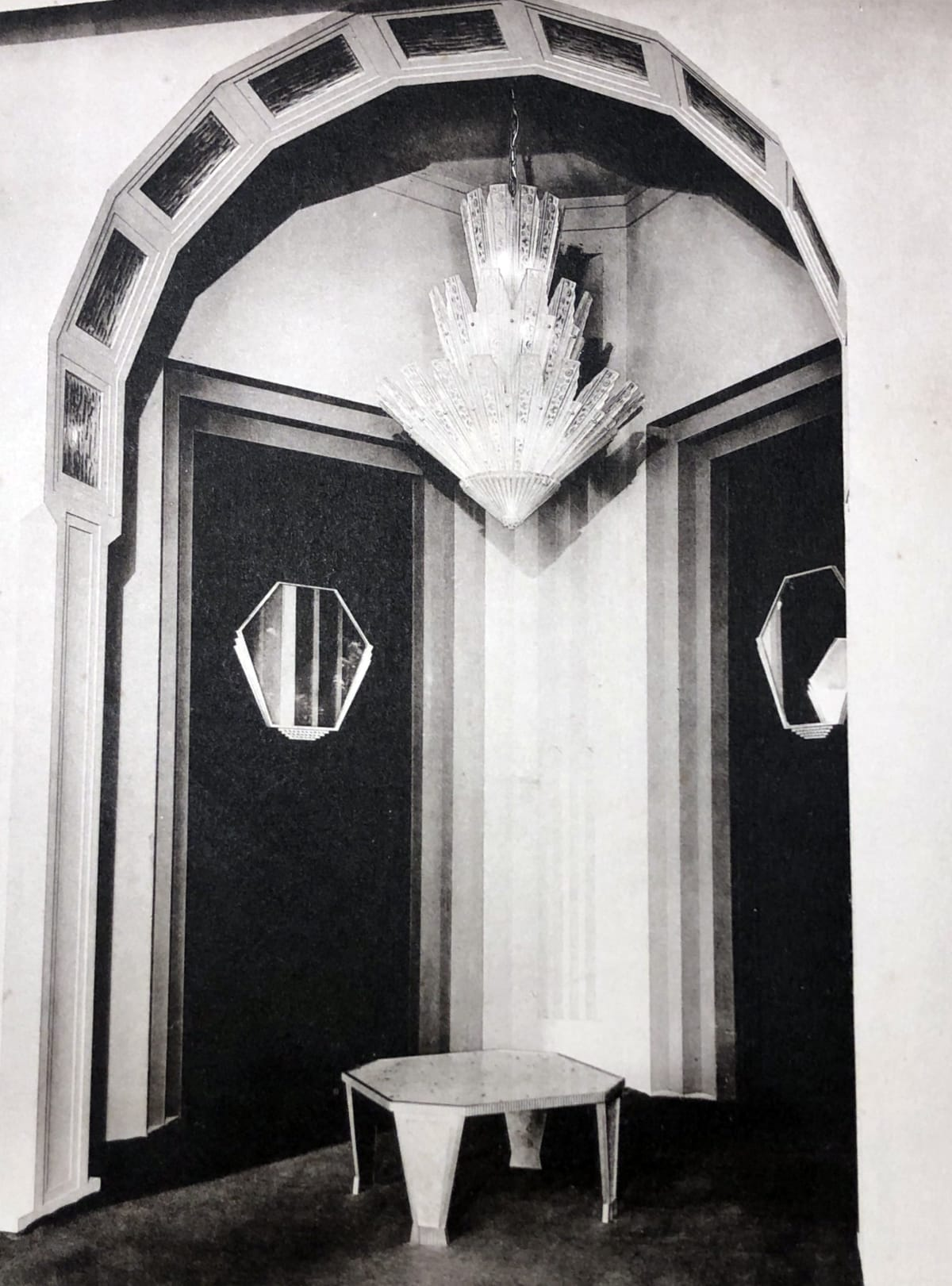Gran Entrance by Genet et Michon Paris, 1932
