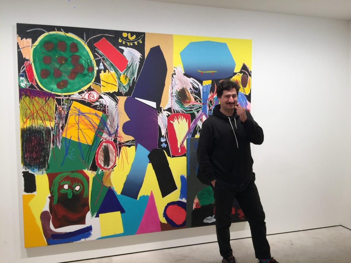 A symbolic moment for Jannis Varelas during Art Brussels at Maruani Mercier