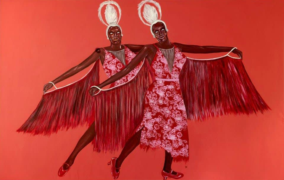 Inspired By Superman, Ghanaian Artist Emmanuel Taku Has Seen His Career Go Up, Up And Away